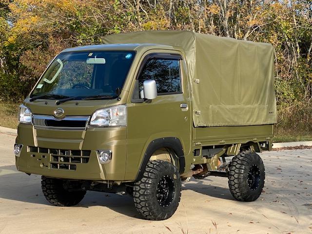 Green Mini Truck