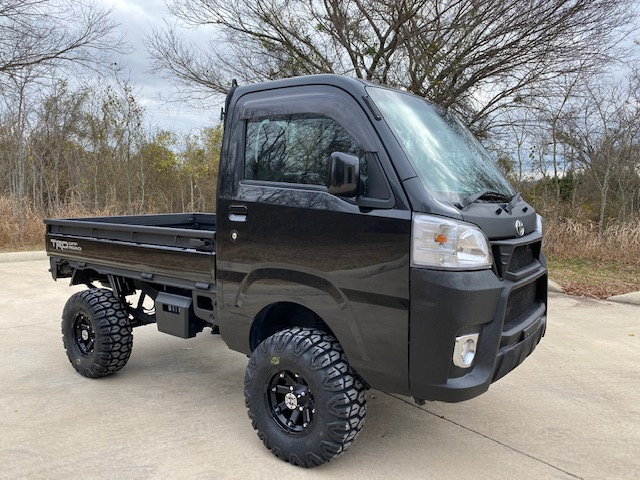 Black Mini Truck