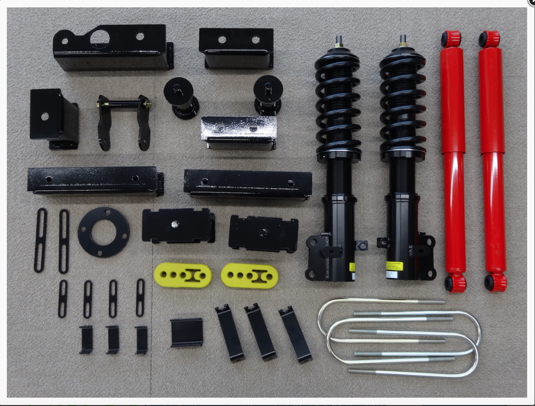 Mini Truck suspension lift kit
