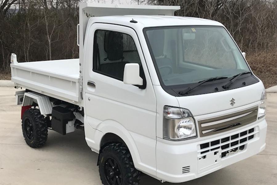 White Mini Truck