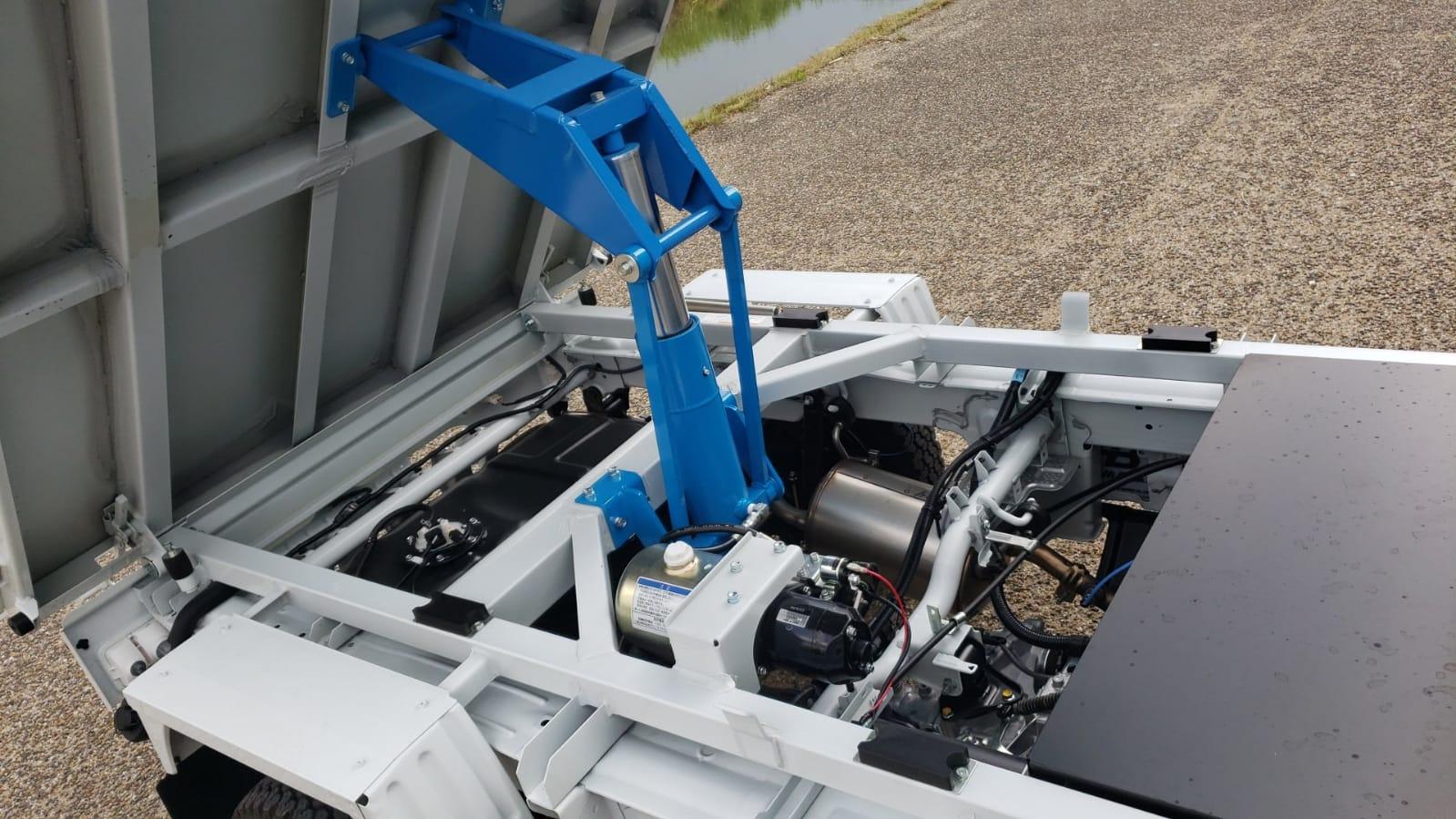 Mini Dump Truck Hydraulics