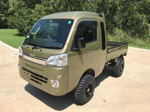 2018 Daihatsu Hijet Jumbo Cab 4 Lift 25 Tires Made By